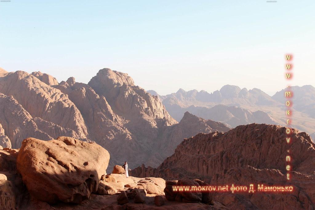 Синайские горы — Египт живописные фотоискусства