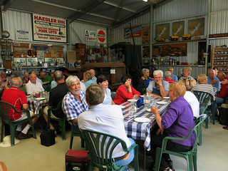 lunch in shed