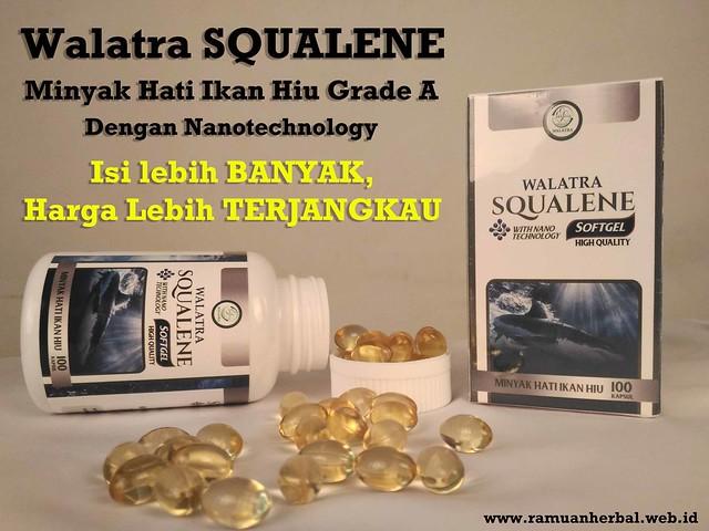 Walatra SQUALENE - Minyak Hati Ikan Hiu Grade A