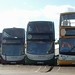 Stagecoach 18306, 15862, 15898 & 15306 Paignton seafront 8 November 2017