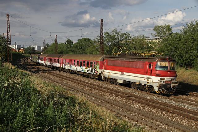 Class 240-078 at Bratislava Vinohrady