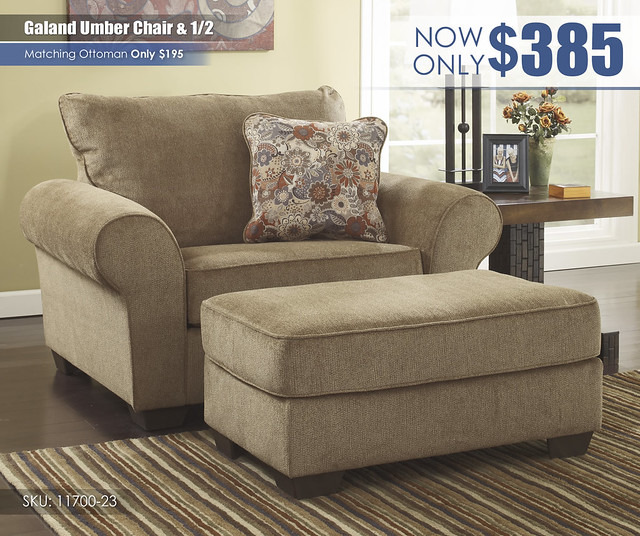 Galand Umber Chair & Half_11700-23-14