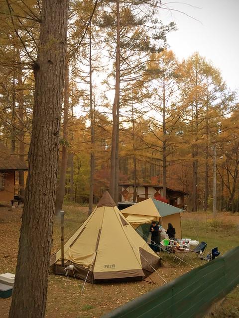 Camp at Yatsugatake