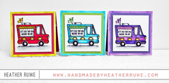 Mini Taco Truck Cards