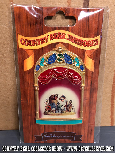 2013 Walt Disney Imagineering LE Five Bear Rugs Pin - Country Bear Collector Show #126
