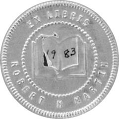 Robert Martin stamp From Roper 1983