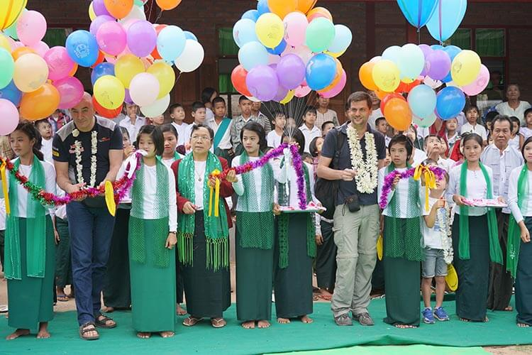 Acronis School in Myanmar