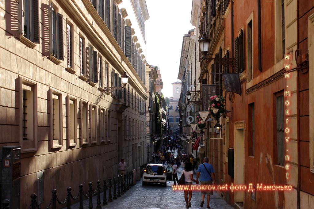 Рим — Италия с фотокамерой прогулки туристов