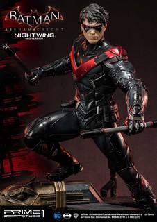 Prime 1 Studio 蝙蝠俠:阿卡漢騎士【夜翼 紅色版】Nightwing Red Version ナイトウィング RED版 MMDC-12RD 1/3 比例全身雕像