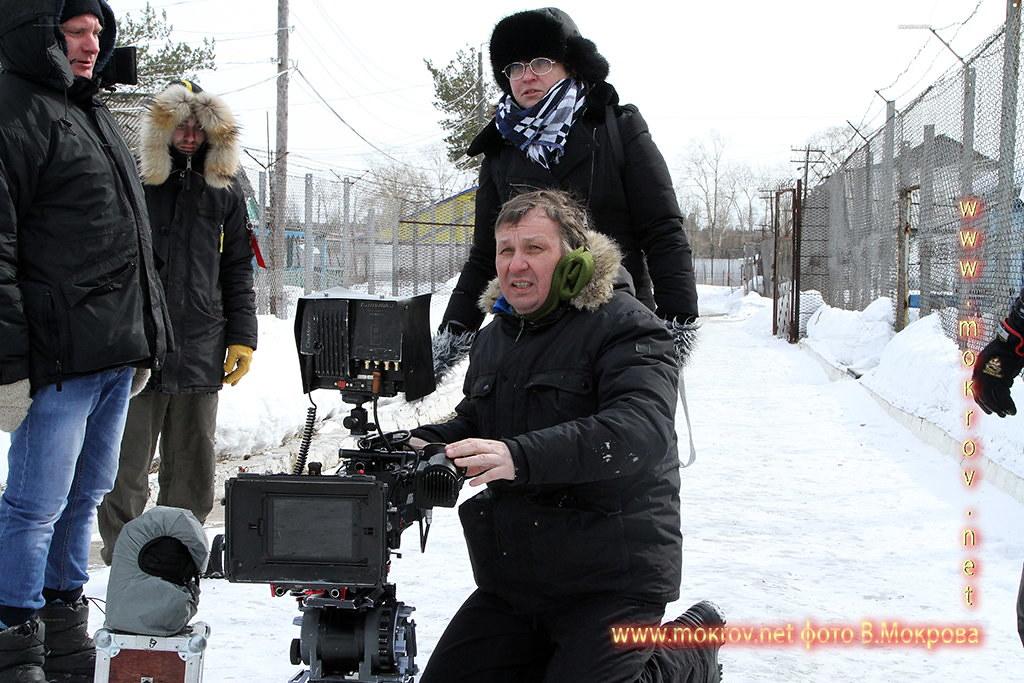 Сергей Вальцов на работе.
