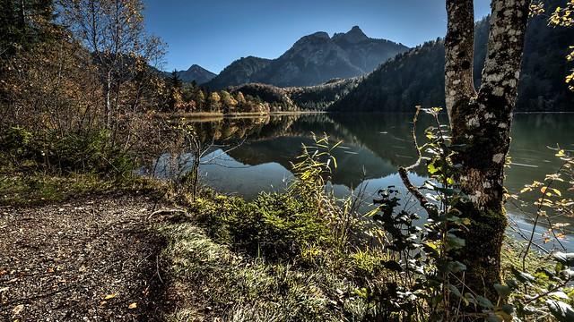 Schwanensee, Schwangau, Germany., Nikon D3X, AF-S Zoom-Nikkor 14-24mm f/2.8G ED