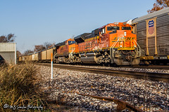 BNSF 8570 | EMD SD70ACe | BNSF Thayer South Subdivision