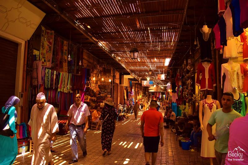 Marrakesh Souks - Morocco