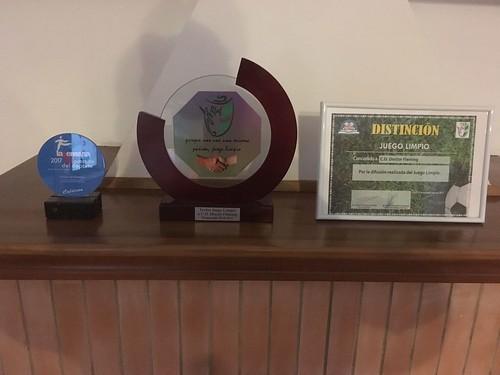 Premio de la Federación Andaluza de Fútbol al CD Doctor Fleming por el Juego Limpio