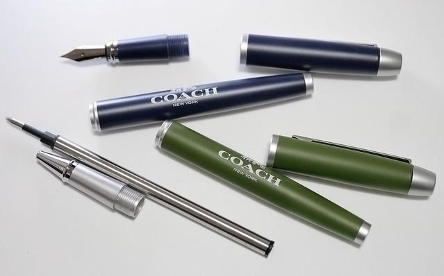MonoMax モノマックス 付録 COACH 万年筆&ボールペンセット