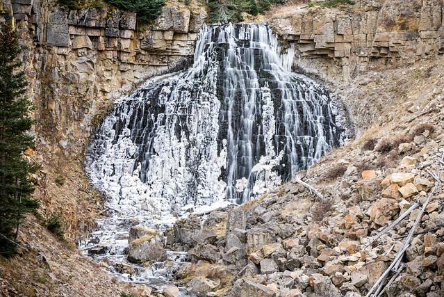 Icy Gibbon Falls