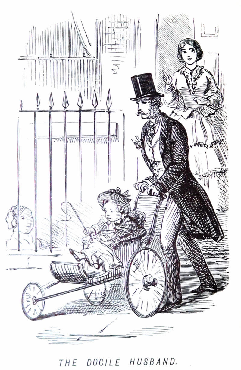 An 1847 stroller from the John Leech Archives
