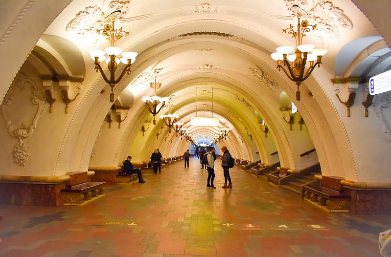 Arbatskaya Metro Station (Blue Line)