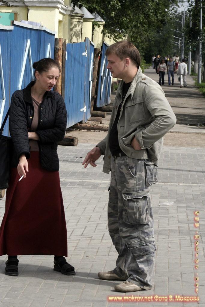 На съемках док. фильма «Западня» с Фотоаппаратом