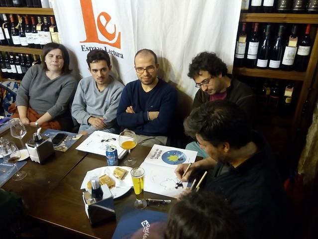Club Lecturas Debuxadas 21/11/2017