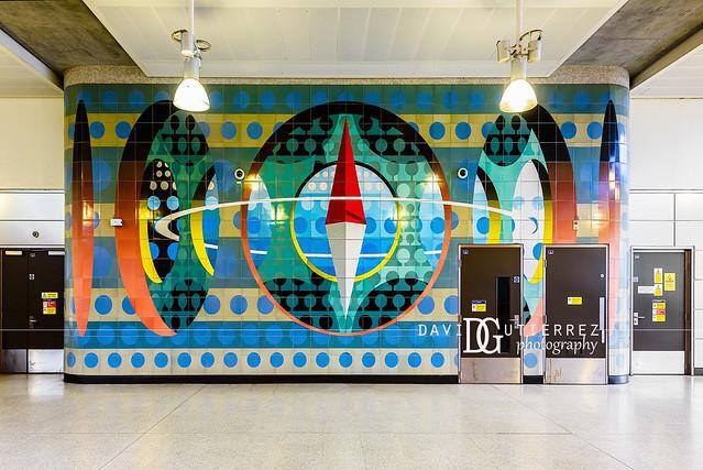 The Elliptical Switchback (Tod Hanson) - Haggerston Station, London, UK