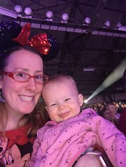 Mommy & Jadzia at Disney On Ice: Follow Your Heart