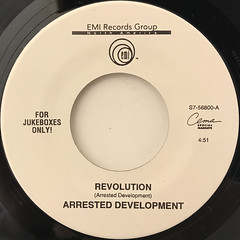 ARRESTED DEVELOPMENT:REVOLUTION(LABEL SIDE-A)