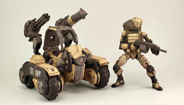 """雙頭攻擊毫無死角!沙漠部隊的致命猛毒 - 《酸雨戰爭》高速機車""""雙頭蛇"""" Acid Rain Amphista"""