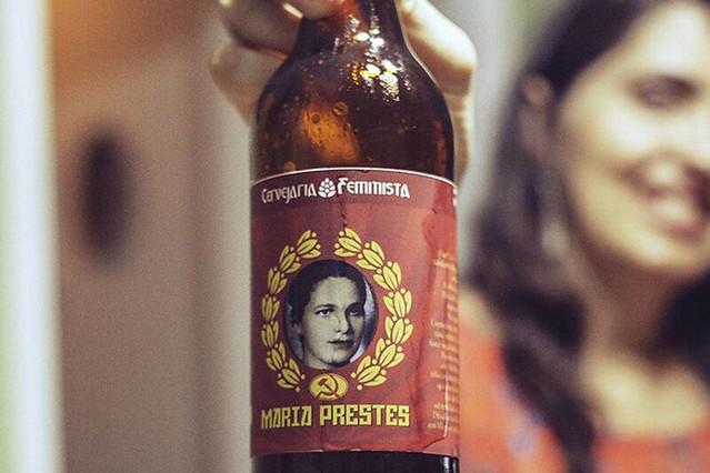 Memórias de Maria Prestes serviram de inspiração para criação da cerveja que leva o nome dela - Créditos: Divulgação/ André Mantelli