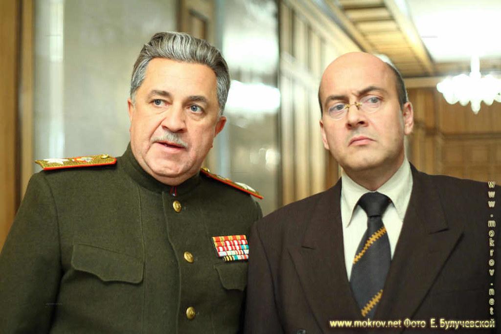 Ворошилов – Владимир Стержаков. Берия – Вячеслав Гришечкин.