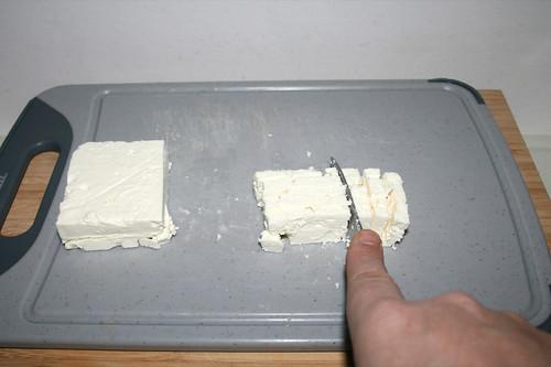 60 - Schafskäse würfeln / Dice feta