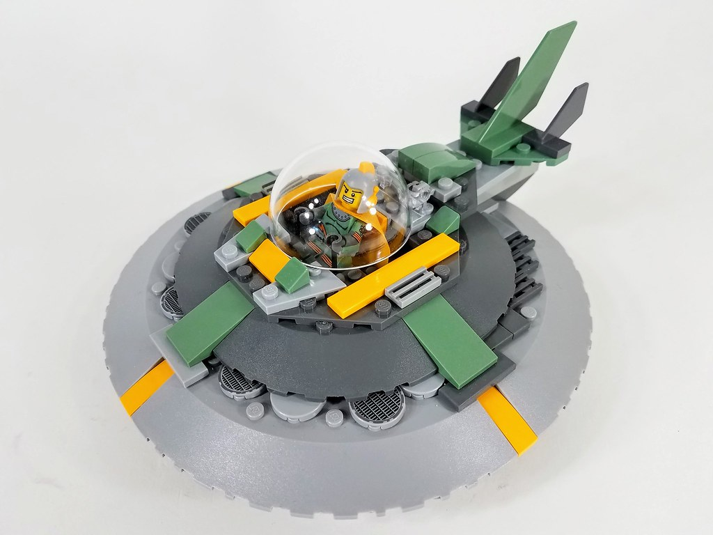 Brick Rogers Flying Saucer