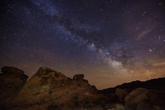 One perfect night at Valley of Fire