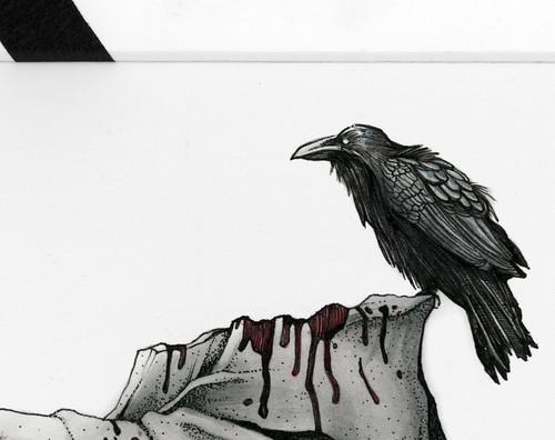 Alright. Calm Down, Goth Pigeon.
