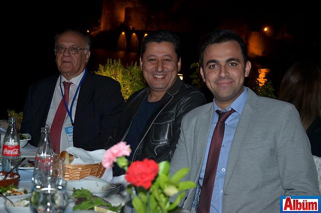 Prof. Dr. Sencer İmer, Doç. Dr. Uğur Altuğ, Ali Tokmak