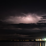 31. Jaanuar 2017 - 20:58 - Storm, seen from Stokes Hill Wharf, Darwin