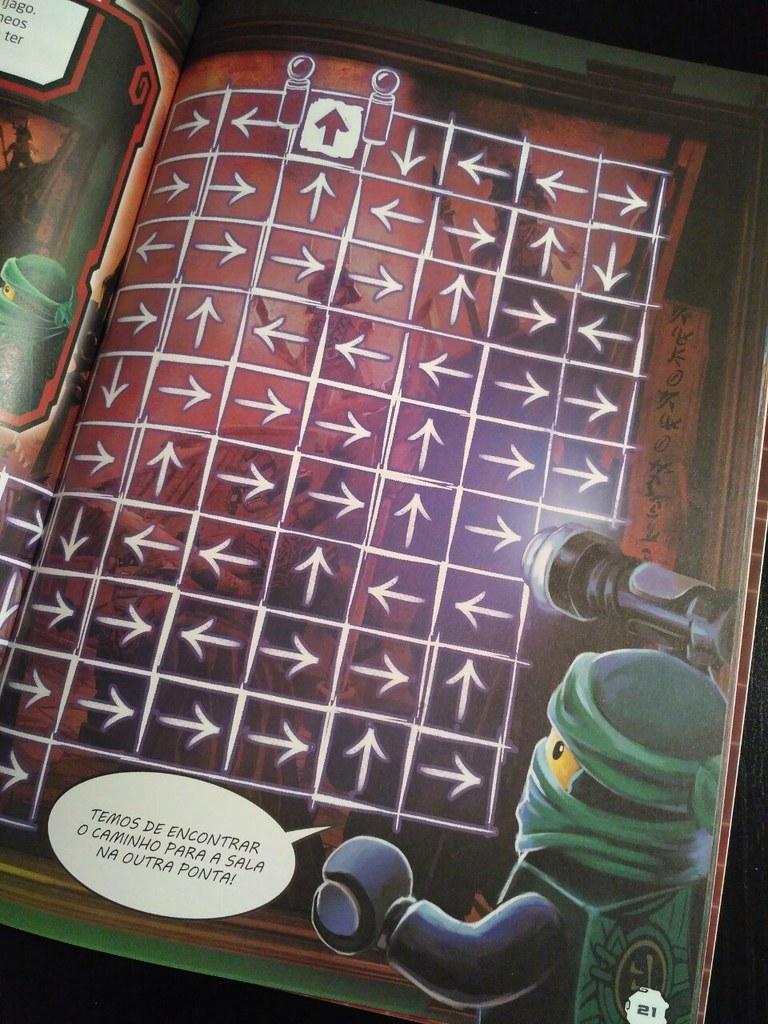 Ninjago: Livro dos Labirintos