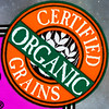 Certified Organic Grains by Timothy Valentine