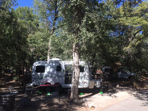 Chiricahua National Monument tightest parking spot yet