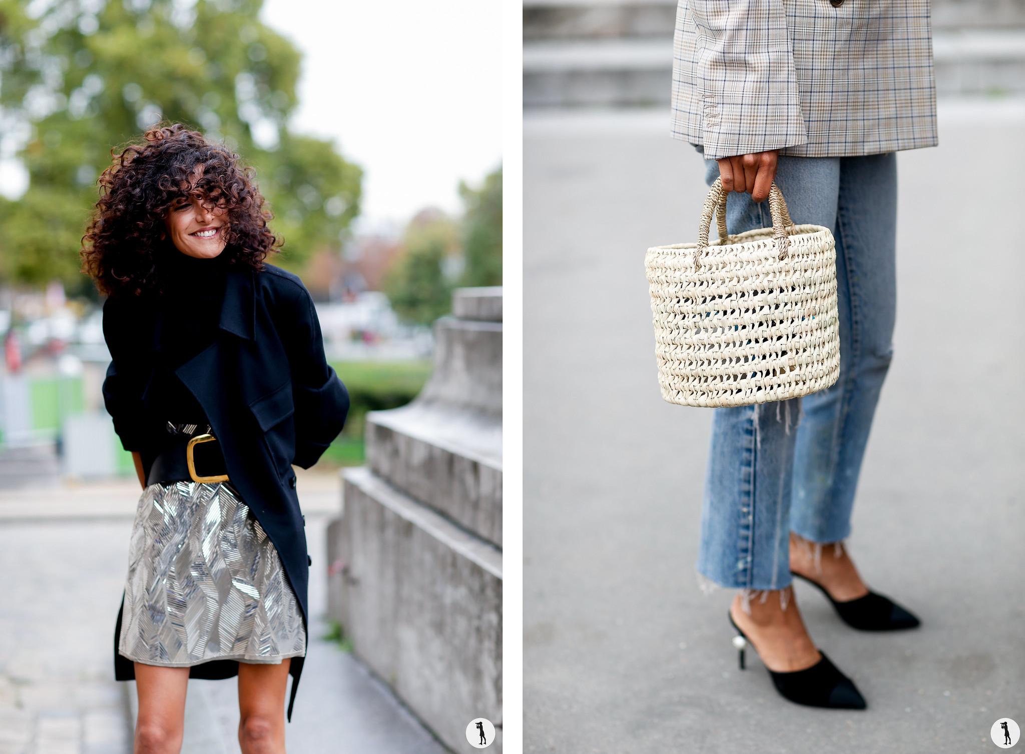 Brune Buonomano and Close up - Paris Fashion Week SS18