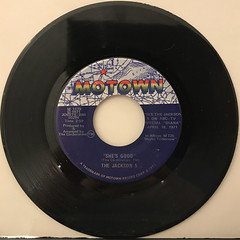 THE JACKSON 5:NEVER CAN SAY GOODBYE(RECORD SIDE-B)