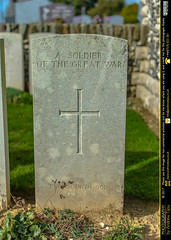 Grave of an Unknown Soldier - Photo of Bonnay