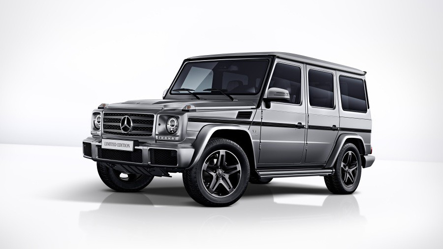 mercedes g-class limited edition 2