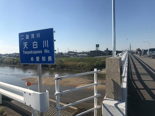 ここから南区。名古屋市内を進みます。