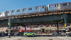 Elevated Subway Tracks, Inwood, New York City