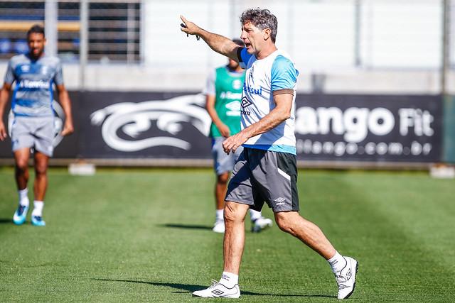 Treino Grêmio 13/11/17