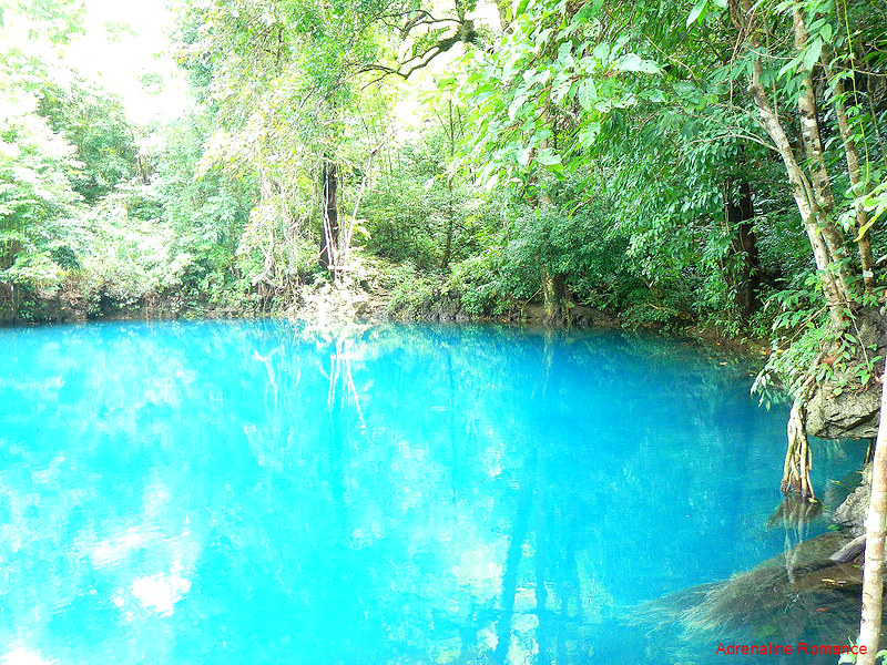 Deep blue pool