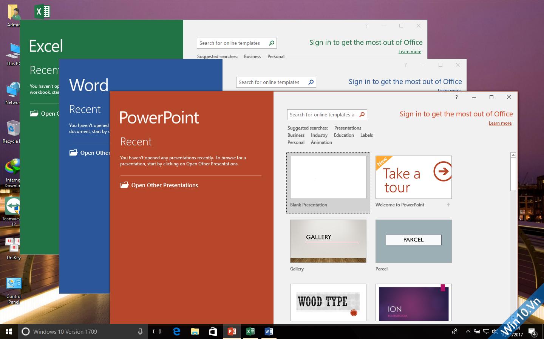 Ghost Windows 10 1709 Full Soft Full Driver 32bit/64bit by ThienIT 74