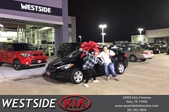 #HappyBirthday to Stephanie from Dennis Celespara at Westside Kia!