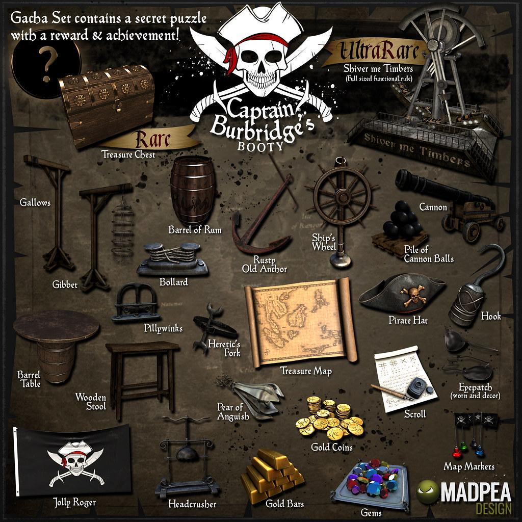 Captain Burbridge's Gacha - TeleportHub.com Live!